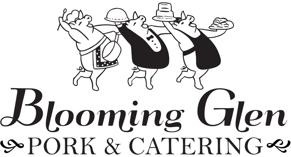 Blooming Glen Catering Logo